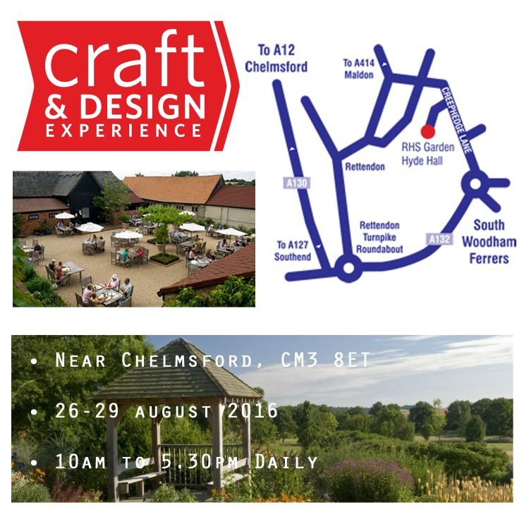 Craft in Focus Design Fair RHS Hyde Hall