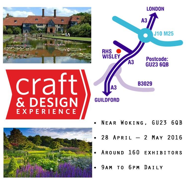 Craft in Focus Design Fair RHS Wisley
