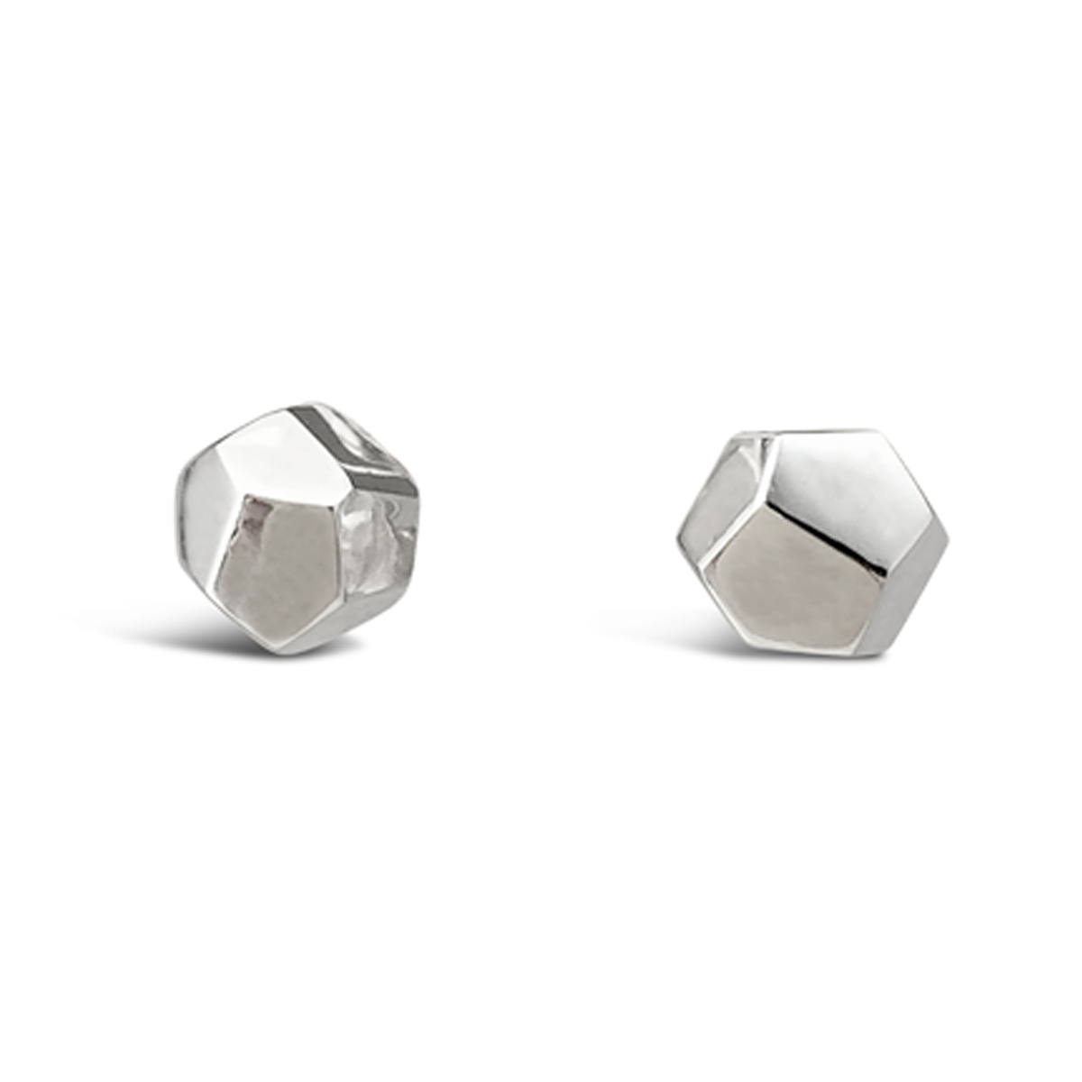 Decca earrings silver 6mm