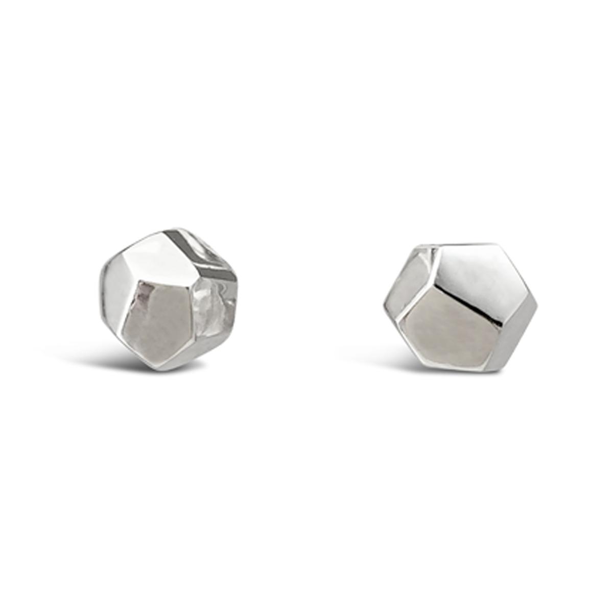 Decca earrings silver 6mm