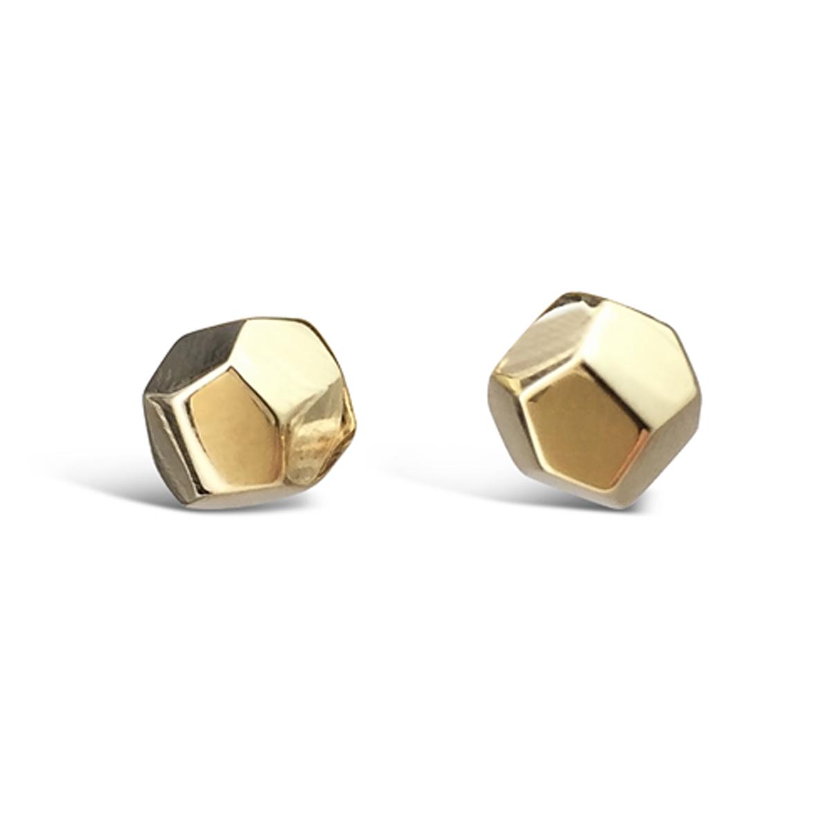 Decca earrings 9ct yellow gold