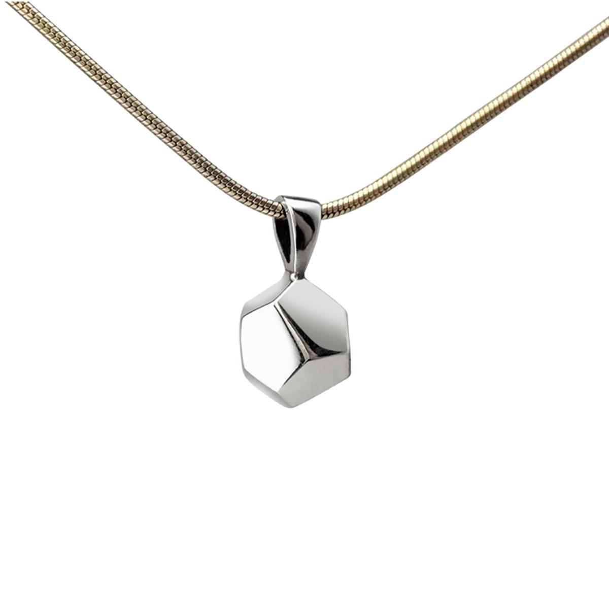 Decca silver pendant