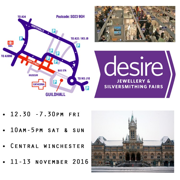 Desire Jewellery & Silversmithing Fair Winchester