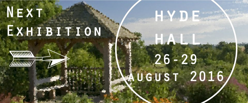 Next exhibition Hyde Hall