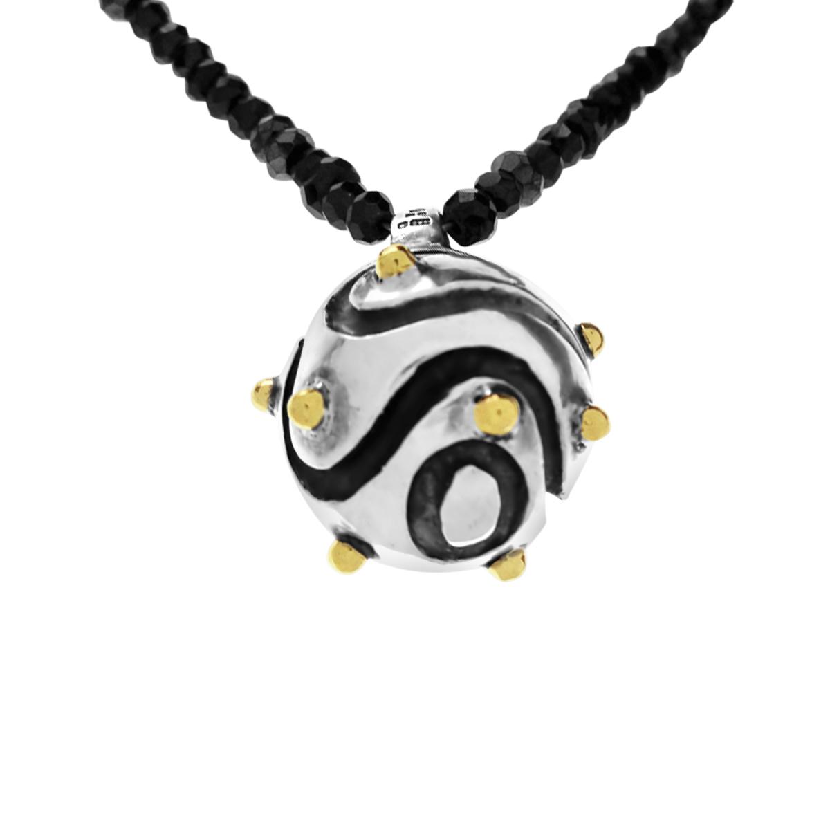 Molecule minesweeper pendant