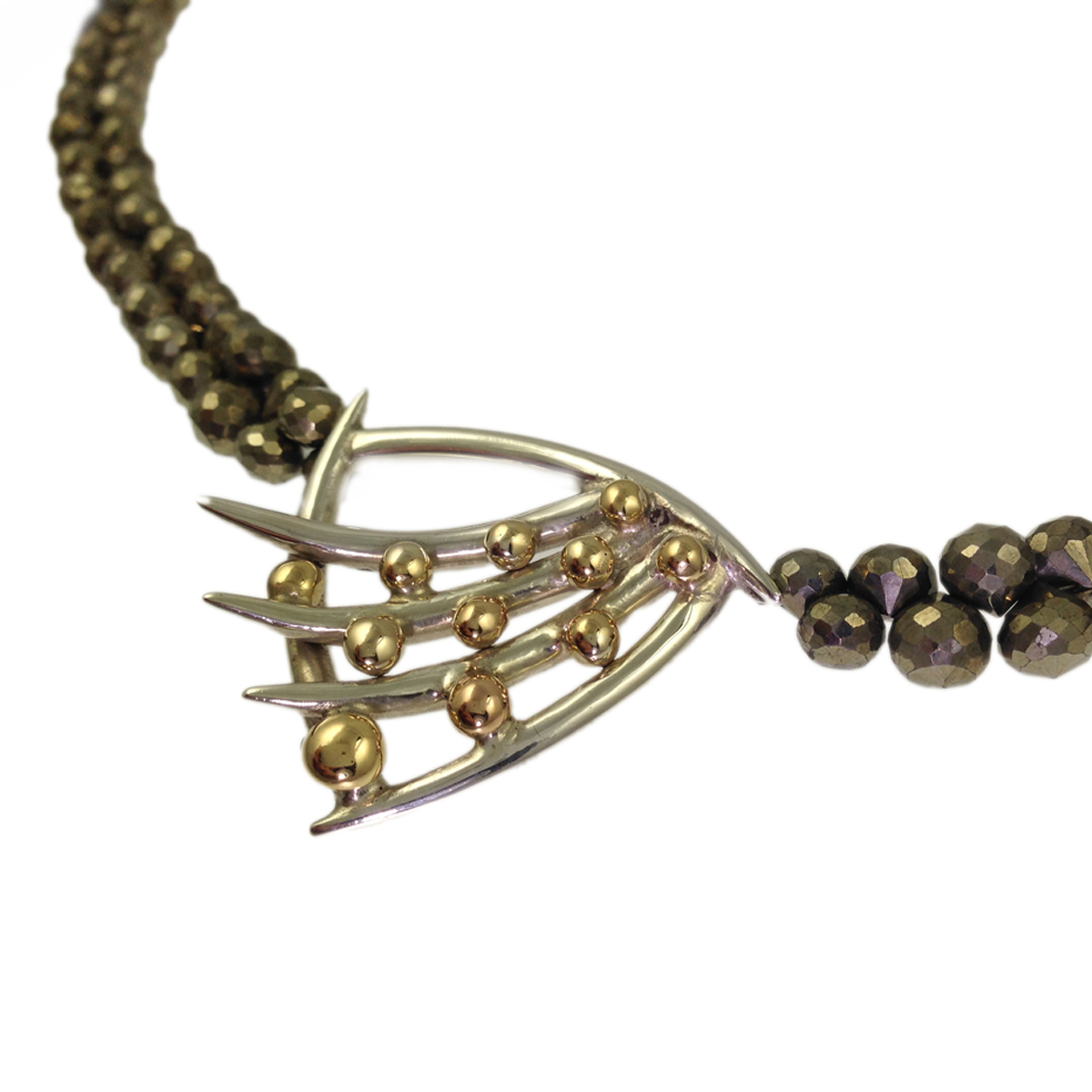 Molecule strata necklace